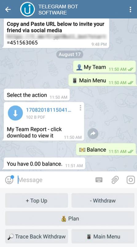 Telegram Bot Software Malaysia